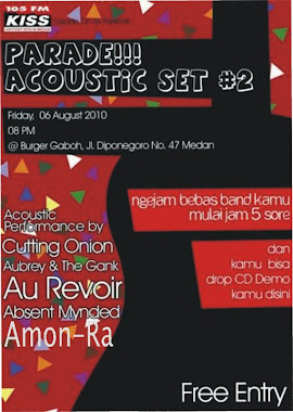 AMON-RA LIVE ON PARADE ACOUSTIC SET #2!!