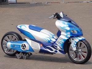 Vario Modifikasi Motor Honda Vario Telur Modif Cat Airbrush 2011