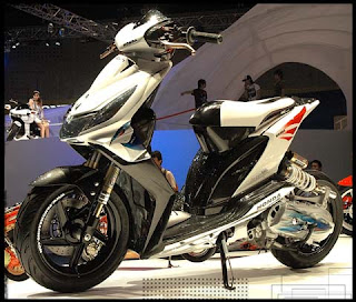 Honda Beat Modifikasi Street Elegan