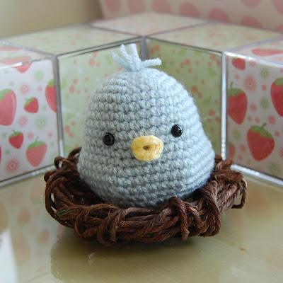 Baby Bird Amigurumi : SweetAmbs: Amigurumi!