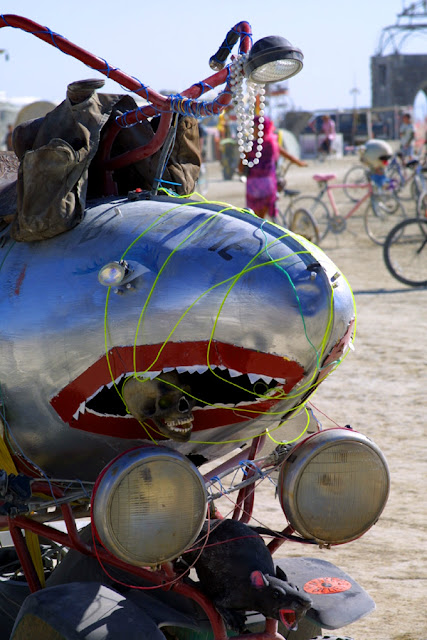 Shark Art Car Central