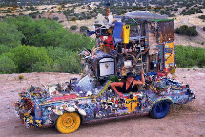 Duke Art Car by Rick McKinney