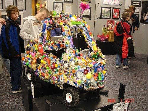 Toy Art Car - By Talented Kindergartners