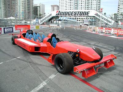 GP Limo - Formula Racing Car for Six
