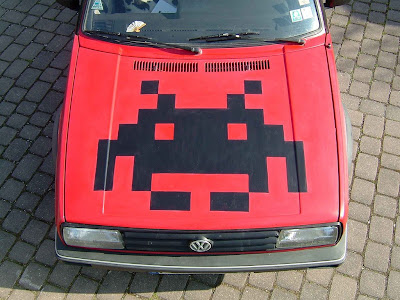 Space Invaders Car