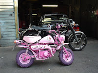 Hello Kitty Small Motorcycle