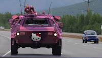 Hello Kitty Military Transport
