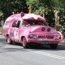 Swine Car Flu – Or just plain Pig Cars – Art Car Central