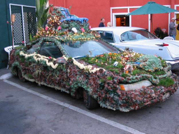 Flower Art Car For Sale