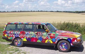 Artistic Licence Art Car By Steve Porter