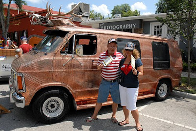 Jimmy McDole and Susie Q and the Penny Art Van