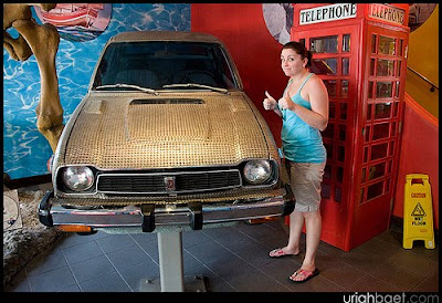 Penny Honda Civic Art Car at the Ripley's Believe It or Not museum!