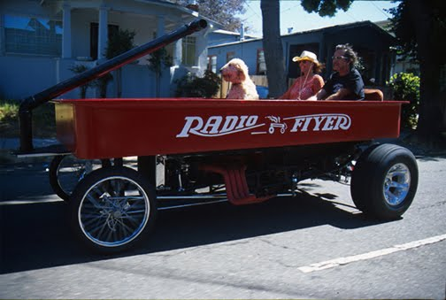 Radio Flyer Art Car by Bob Castaneda