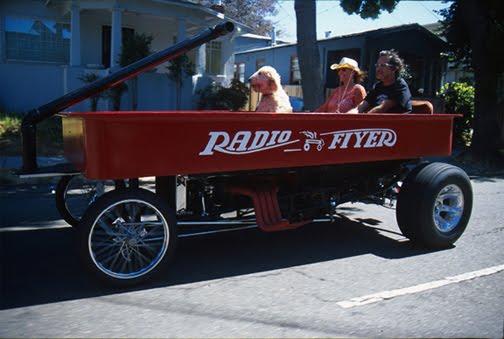 Radio Flyer Art Car by Bob Castaneda