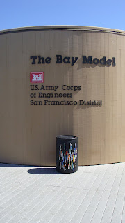 Pen Donation Barrel Now at The Bay Model in Sausalito