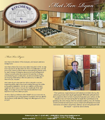 Kitchens By Ken Ryan Web Design
