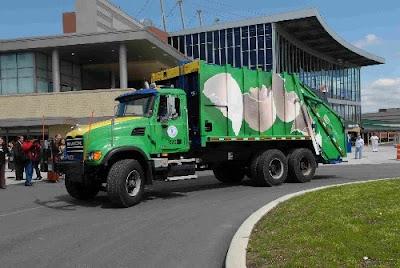 Broken Egg Shell Garbage Art Truck