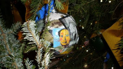 Mao Christmas Ornament in the White House