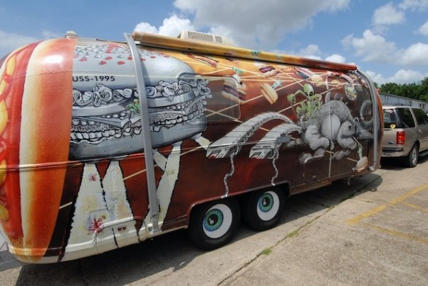VEGGIESTREAMER art-RV for sale by Jay Hamburger Side View