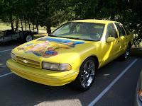 SpongBob ChevyArt Car