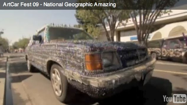 ArtCar Fest 09  - Video from National Geographic