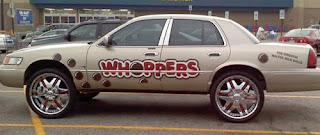 Whoppers Donk Art Car