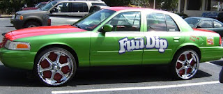 Fun Dip Donk Art Car
