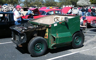 Dumpster Driving  - Keep your trash and drive it too.
