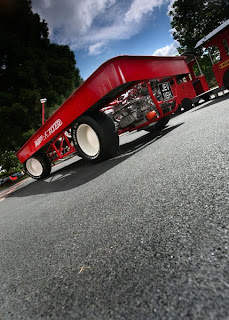 Turbo VW Radio Flyer Art car Underneath