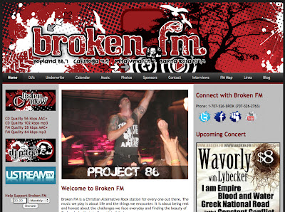 Broken FM Web Design