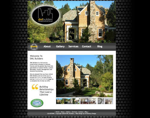 DNL Builders Web Design