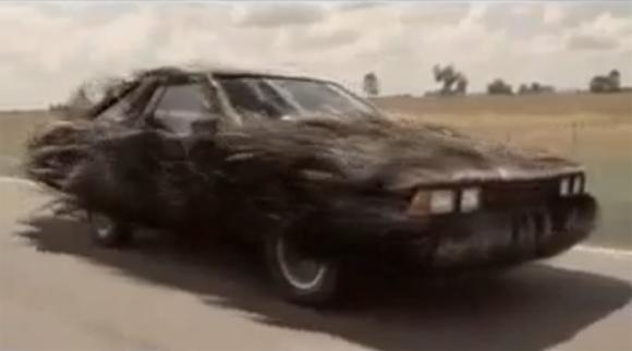 Hairy Art Car Commercial for Bald Men?