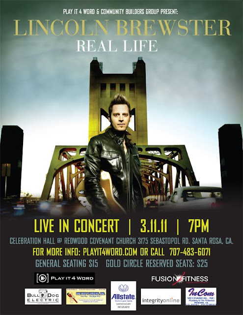 Lincoln Brewster - In Concert March 11, 2011 at RCC