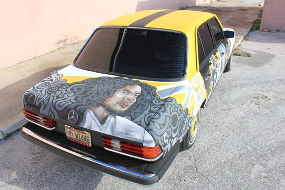 Steelers Fan Mercedes Art Car