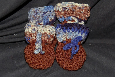 Crochet Pattern ~ DOG BOOTIES ~ Instructions