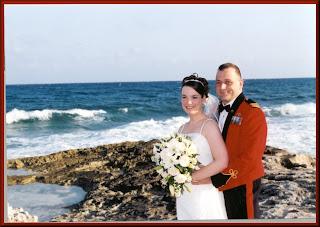 Wedding, April 22, 2004, Mayan Riviera, Mexico