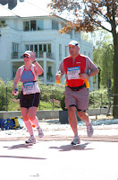 Dragonheart's humans running the Hamburg Marathon