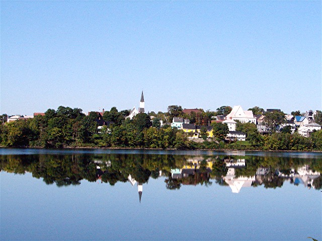 Woodstock (NB) Canada  city photo : ... camera trails: Reflections of Woodstock, NB for Weekend Reflections