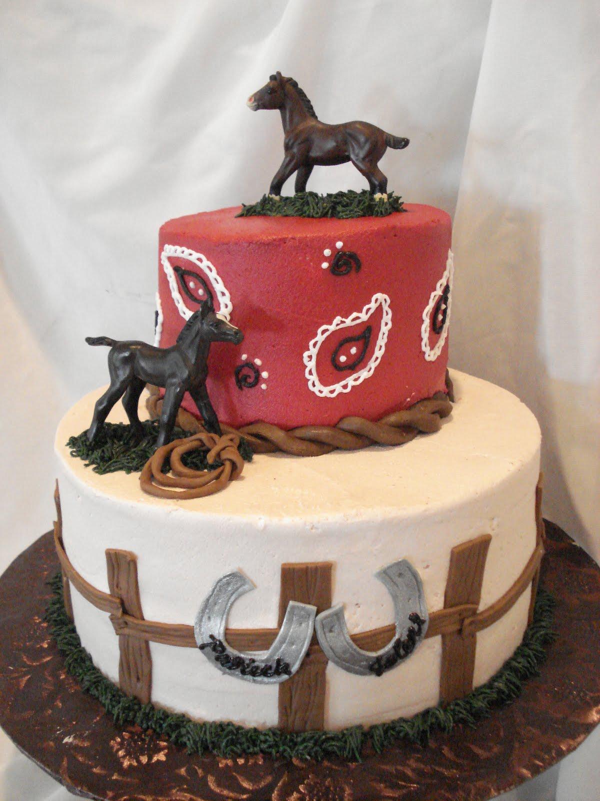 Red Horse Cake Design : candicakes!: GOOD OL  FARM LIFE!