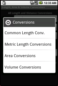 Length, Area and  Volume Conversions