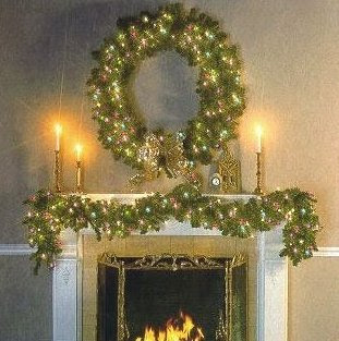 christmas home decorating joy to the world pre lit garland