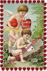 "The Faerie Zine""s Vintage Valentine Swap 2008"