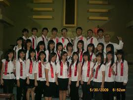 Pelayanan 30 Mei 09 di Sakramen Maha Kudus SBY