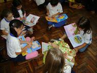 Uma escola que incentiva a leitura!!!