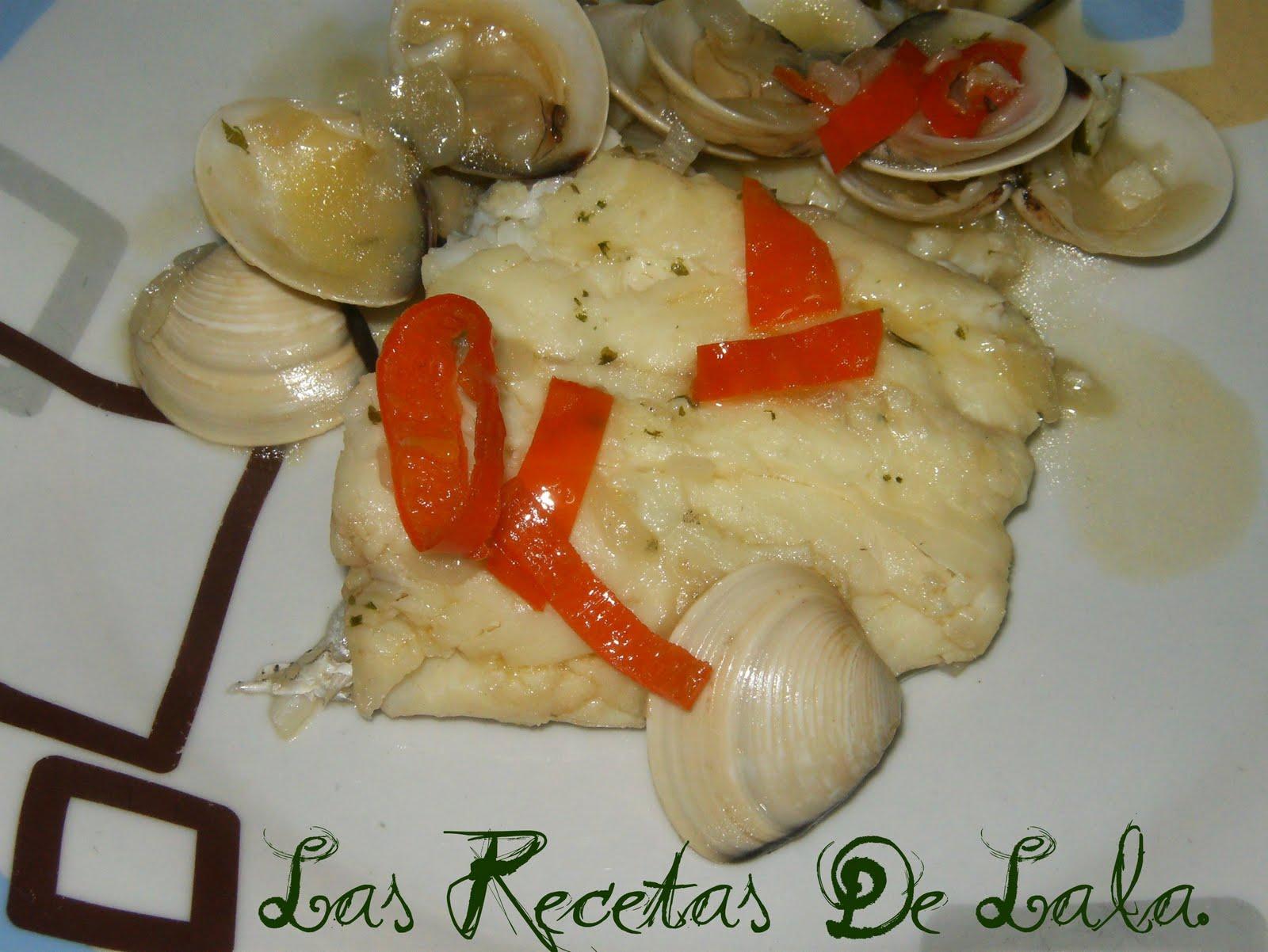 Las recetas de lala merluza en salsa con almejas - Cocinar merluza en salsa ...