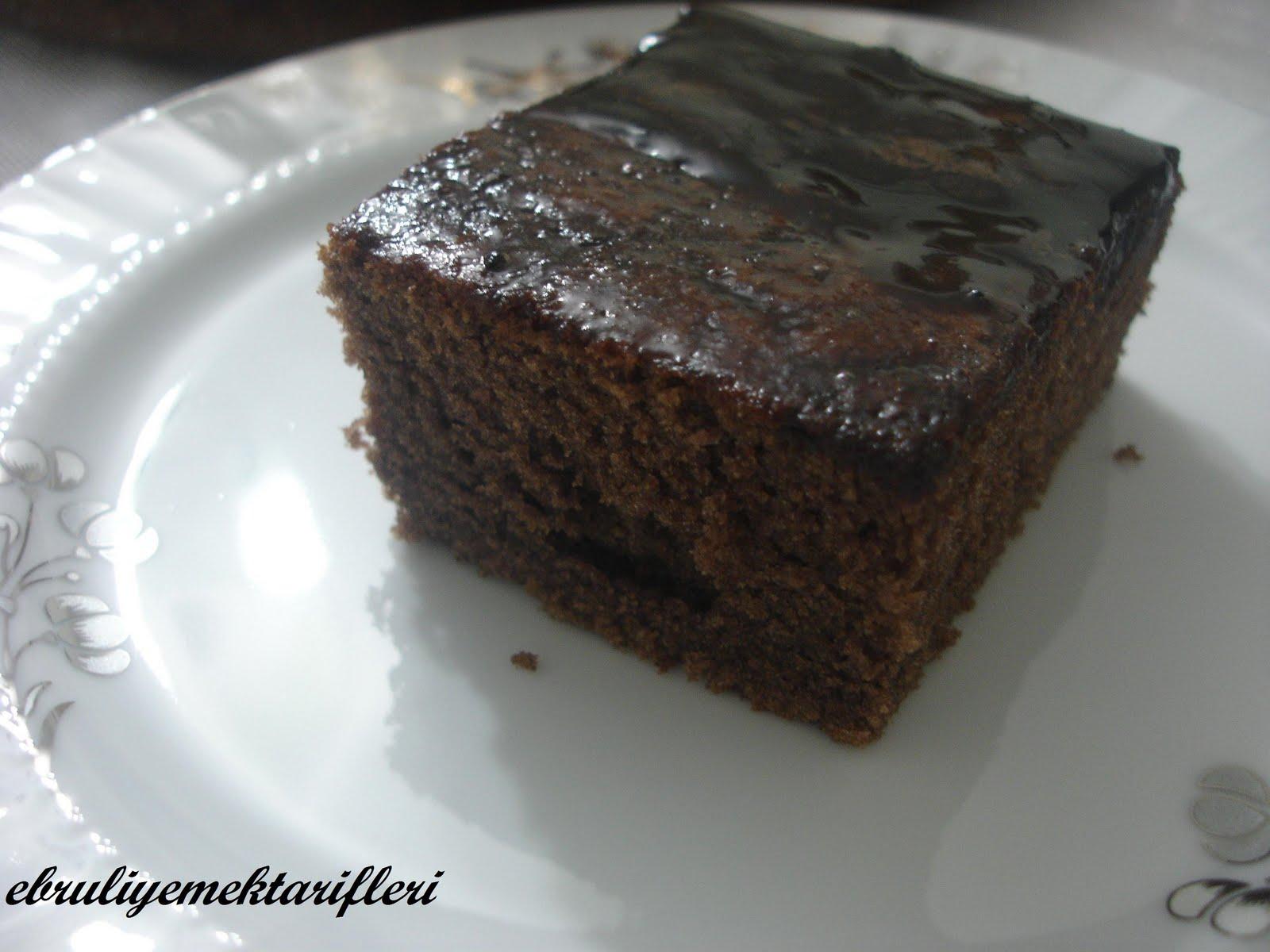 Islak Kakaolu Kek