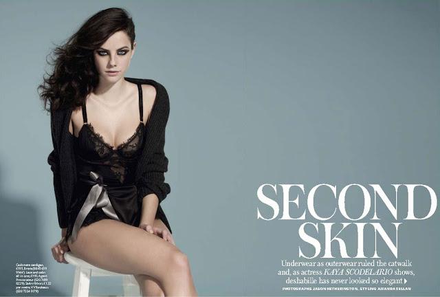 Kaya Scodelario, InStyle, InStyle UK, Editorial Kaya Scodelario, Modelo Kaya Scodelario, Kaya Scodelario InStyle, Kaya Scodelario Second Skin,