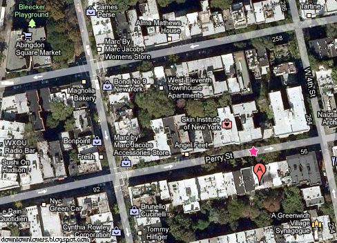 Nova Iorque, New York, Nova York, Carrie Bradshaw, Casa Carrie Bradshaw, Endereço Casa Carrie Bradshaw, Morada Casa Carrie Bradshaw, Sexo e a Cidade, Sex and the City, 66 Perry Street, Mapa Casa Carrie, Magnolia Bakery