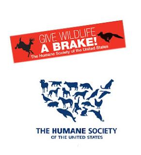Brinde Grátis Adesivo 'Give Wildlife a Brake'