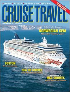 Brinde Grátis Revista Cruise Travel